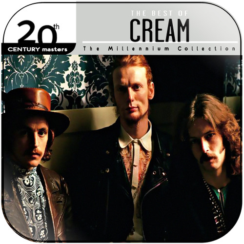 Cream 20Th Century Masters The Millennium Collection The Best Of C Album Cover Sticker Album Cover Sticker