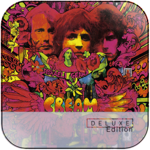 Cream Disraeli Gears-1 Album Cover Sticker Album Cover Sticker