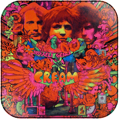Cream Disraeli Gears-2 Album Cover Sticker Album Cover Sticker