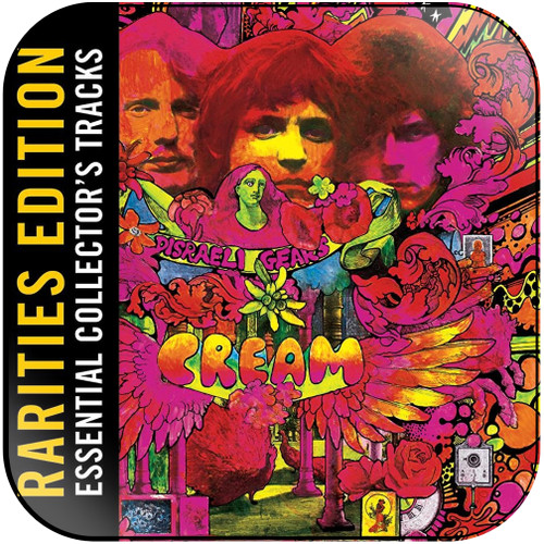 Cream Disraeli Gears-3 Album Cover Sticker Album Cover Sticker