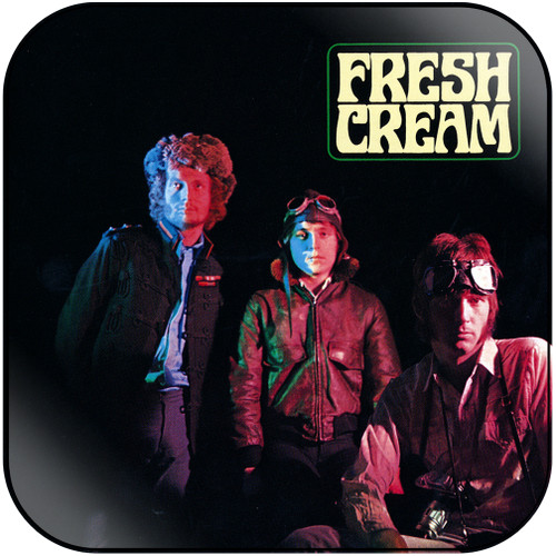 Cream Fresh Cream Album Cover Sticker Album Cover Sticker