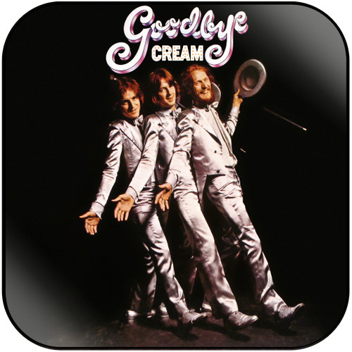 Cream Goodbye Album Cover Sticker Album Cover Sticker