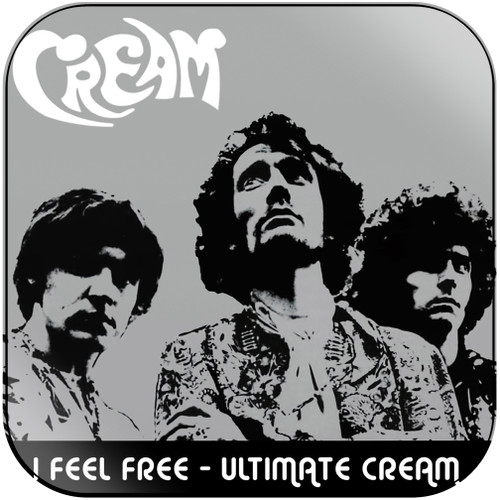 Cream I Feel Free  Ultimate Cream In The Studio Disc 1 Album Cover Sticker Album Cover Sticker