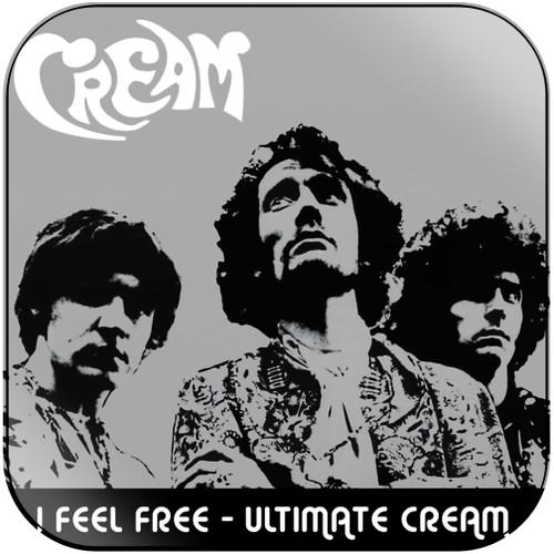Cream I Feel Free  Ultimate Cream In The Studio Disc 1 Album Cover Sticker Album Cover Sticker