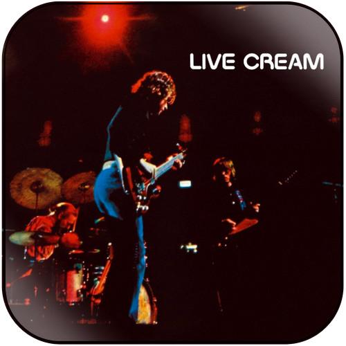 Cream Live Cream Album Cover Sticker Album Cover Sticker