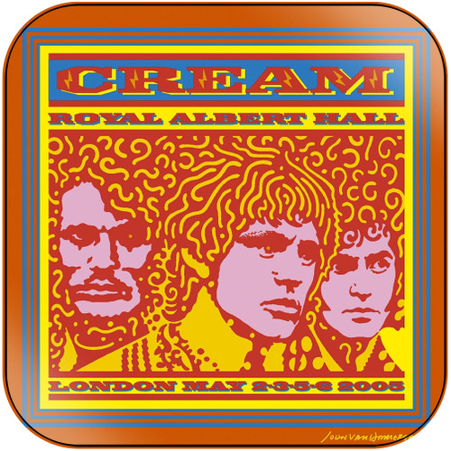 Cream Royal Albert Hall London May 2 3 5 6 2005 Album Cover Sticker Album Cover Sticker