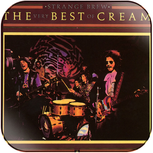 Cream Strange Brew The Very Best Of Cream-1 Album Cover Sticker Album Cover Sticker
