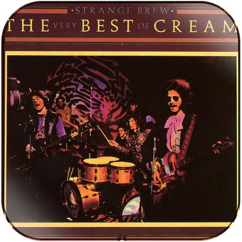 Cream Strange Brew The Very Best Of Cream-1 Album Cover Sticker Album Cover Sticker