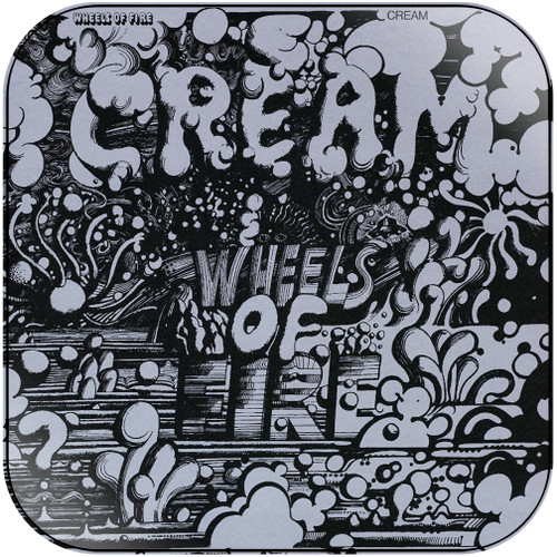 Cream Wheels Of Fire  In The Studio Album Cover Sticker Album Cover Sticker