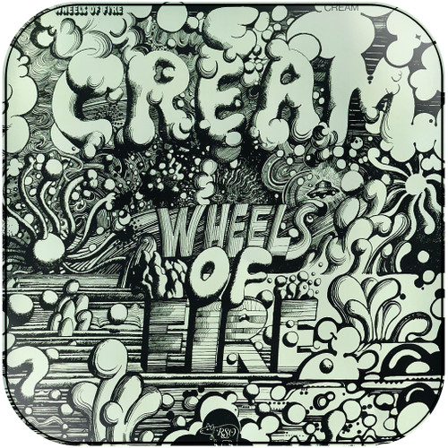 Cream Wheels Of Fire Disc 1 In The Studio Album Cover Sticker Album Cover Sticker