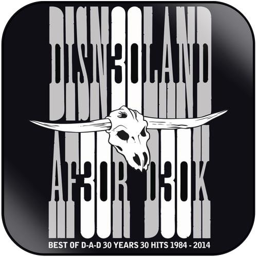 D-A-D Dicniilandafterdark Album Cover Sticker