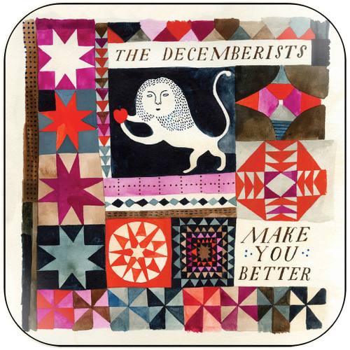 The Decemberists Make You Better Album Cover Sticker
