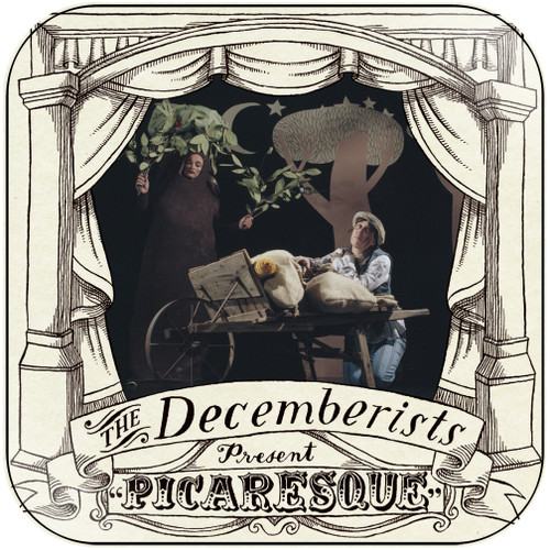 The Decemberists Picaresque Album Cover Sticker