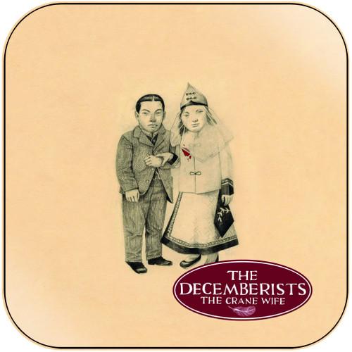 The Decemberists The Crane Wife-1 Album Cover Sticker