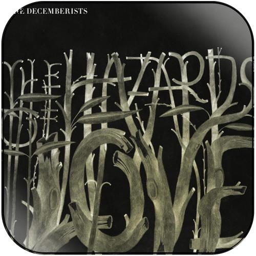 The Decemberists The Hazards Of Love Album Cover Sticker