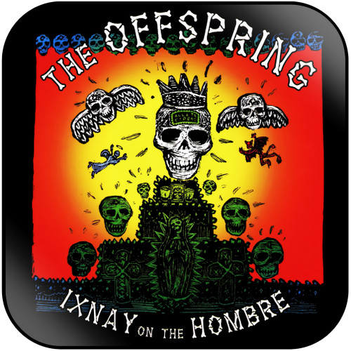 The Offspring Ixnay On The Hombre-1 Album Cover Sticker