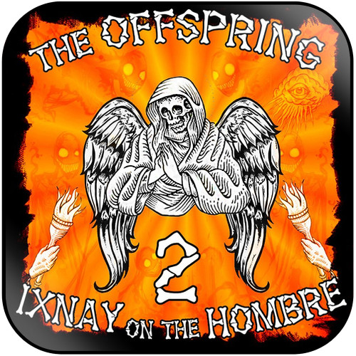 The Offspring Ixnay On The Hombre-2 Album Cover Sticker