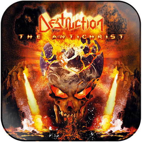 Kreator Phantom Antichrist-2 Album Cover Sticker
