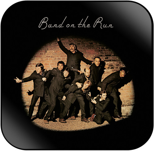Paul McCartney and Wings Band on The Run Album Cover Sticker