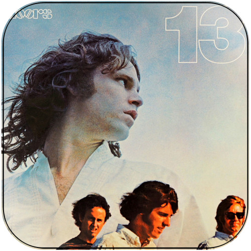 The Doors 13 Album Cover Sticker