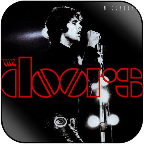 The Doors In Concert Album Cover Sticker