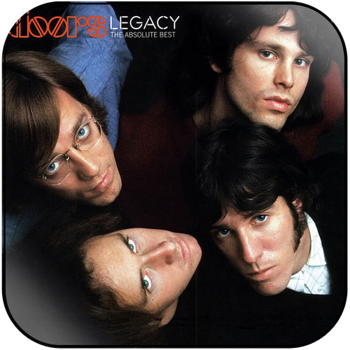 The Doors Legacy The Absolute Best Album Cover Sticker