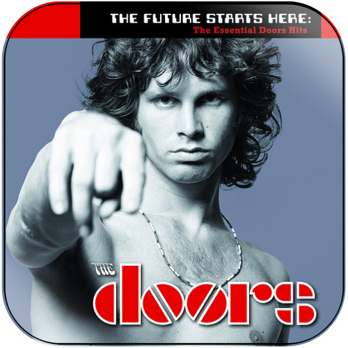 The Doors The Future Starts Here The Essential Doors Hits Album Cover Sticker