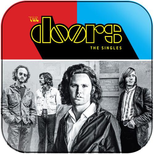 The Doors The Singles Album Cover Sticker