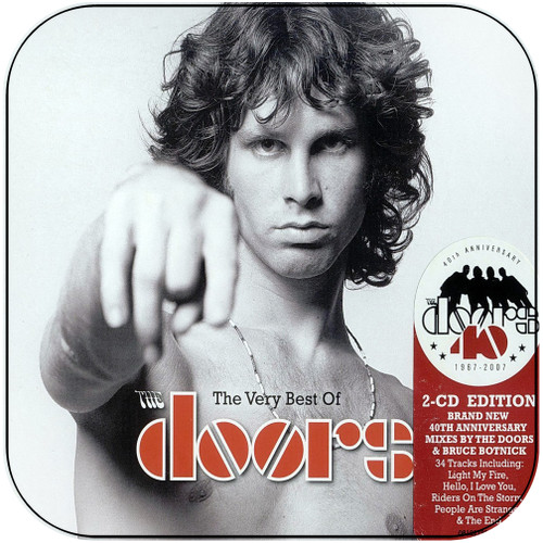 The Doors The Very Best Of The Doors Album Cover Sticker