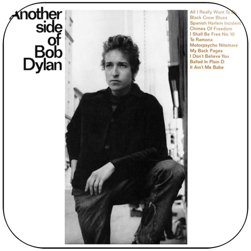 Bob Dylan Another Side Of Bob Dylan-1 Album Cover Sticker