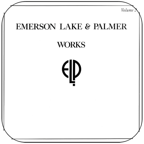 Emerson Lake and Palmer Works Volume 2 Album Cover Sticker