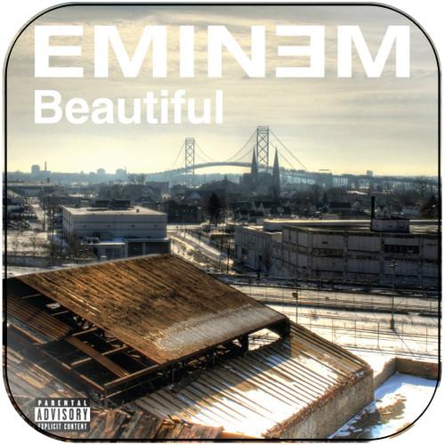 Eminem Beautiful Album Cover Sticker