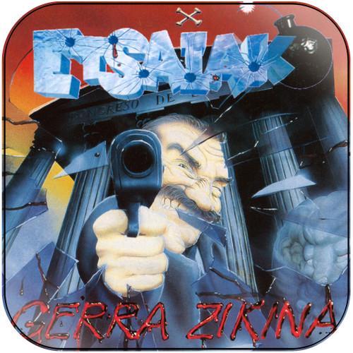 Etsaiak Gerra Zikina Album Cover Sticker