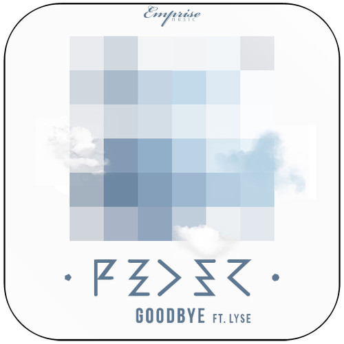 Feder Goodbye Album Cover Sticker