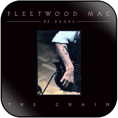 Fleetwood Mac 25 Years The Chain Album Cover Sticker