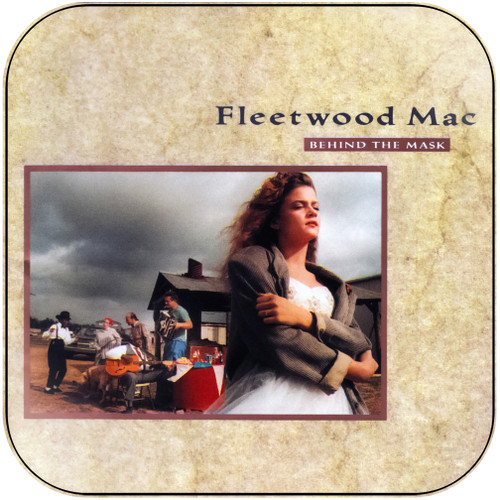 Fleetwood Mac Behind The Mask Album Cover Sticker