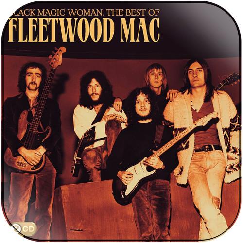 Fleetwood Mac Black Magic Woman The Best Of Fleetwood Mac Album Cover Sticker