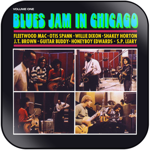 Fleetwood Mac Blues Jam Blues Jam In Chicago Volume One Album Cover Sticker