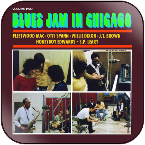 Fleetwood Mac Blues Jam In Chicago Volume Two Album Cover Sticker
