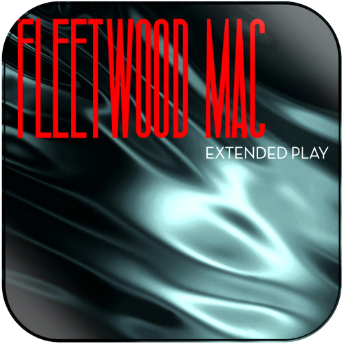 Fleetwood Mac Extended Play Album Cover Sticker