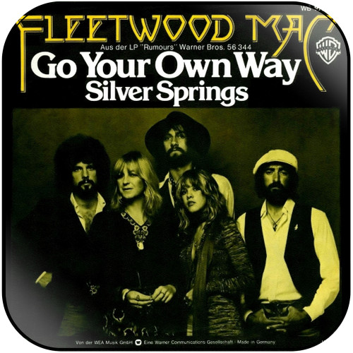 Fleetwood Mac Go Your Own Way Silver Springs-1 Album Cover Sticker