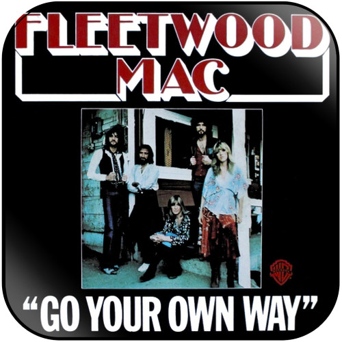 Fleetwood Mac Go Your Own Way Silver Springs-2 Album Cover Sticker