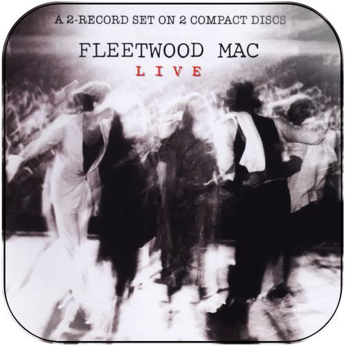 Fleetwood Mac Live Album Cover Sticker