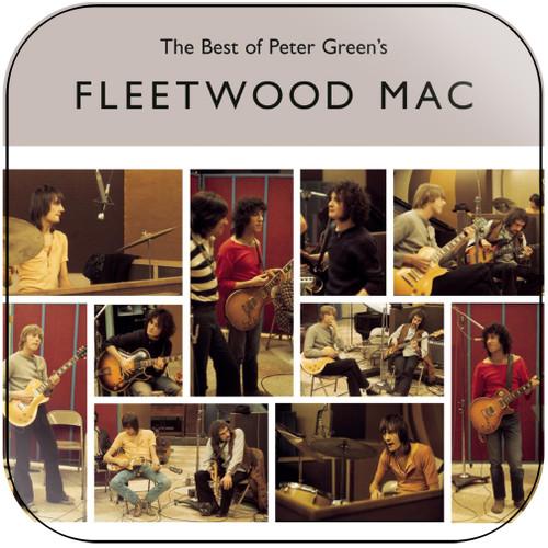 Fleetwood Mac The Best Of Peter Greens Fleetwood Mac Album Cover Sticker