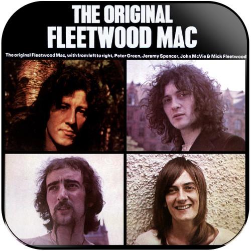Fleetwood Mac The Original Fleetwood Mac Album Cover Sticker