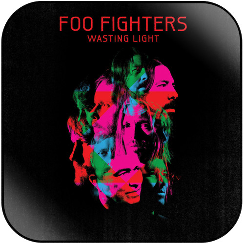 Foo Fighters Wasting Light Album Cover Sticker