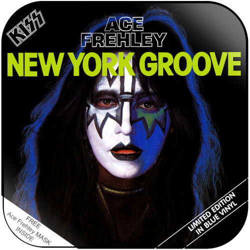 Ace Frehley New York Groove Album Cover Sticker