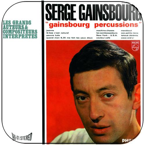 Serge Gainsbourg Gainsbourg Percussions Album Cover Sticker