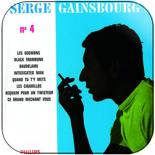 Serge Gainsbourg N4 Album Cover Sticker