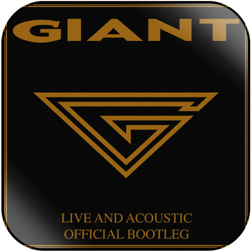 Giant - Live Acoustic Official Bootleg Album Cover Sticker